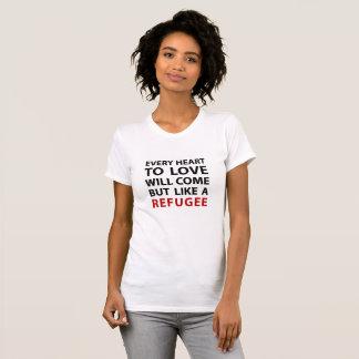 Flüchtling - Hymne durch Leonard Cohen T-Shirt