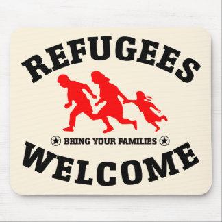 Flüchtlings-Willkommen holen Ihre Familien Mousepad