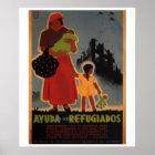 Flüchtlingshilfe (1938) _Propaganda Plakat