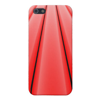 """Fluchtpunkt - Rot "" iPhone 5 Cover"