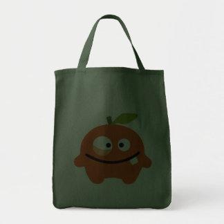 Fluffel orrico die Orange Leinentaschen