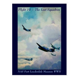 Flug 19 - Das verlorene Geschwader Postkarte