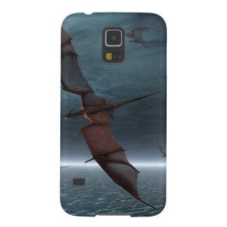 Flug der roten Drachen über dem Meer Samsung Galaxy S5 Hülle