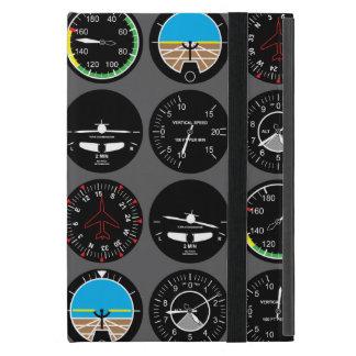 Flug-Instrumente iPad Mini Hülle