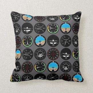 Flug-Instrumente Kissen