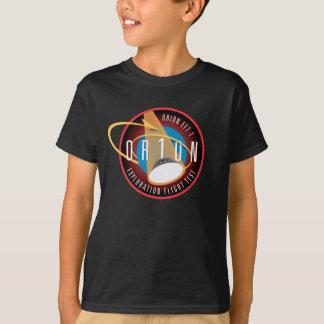 Flug-offizieller Auftrag-Flecken Orions EFT-1 der T-Shirt