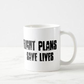 Flug-Pläne retten Leben-Tasse Tasse