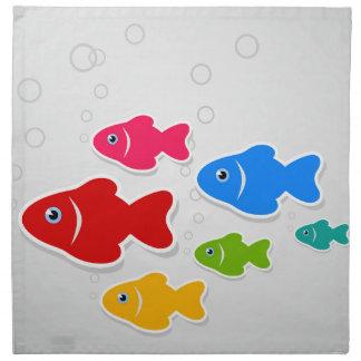 Flug von fishes3 serviette