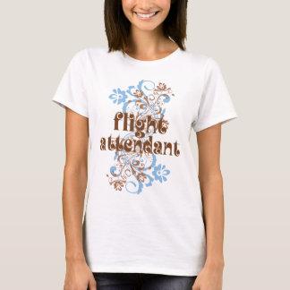 Flugbegleiter-niedliches Geschenk T-Shirt