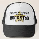 Flugbegleiter-Rockstar Truckerkappe