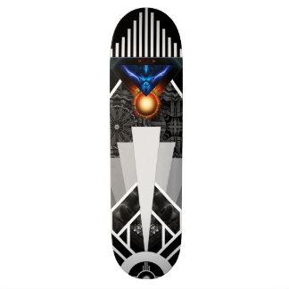 Flügel Blitz-Deko-der Mech Skateboarddeck