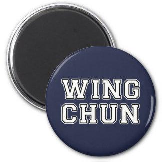 Flügel Chun Runder Magnet 5,7 Cm