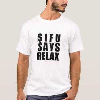 Flügel chun sifu T-Shirt