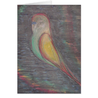 Flügel der Farbe Karte