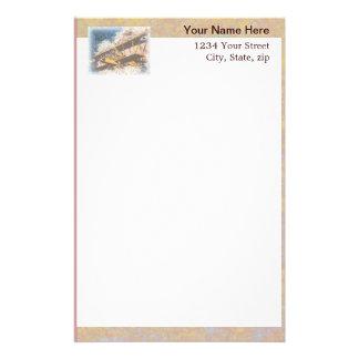 Flügel-der Vatertag oben Briefpapier