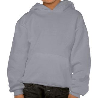 Flügel Kapuzensweatshirt