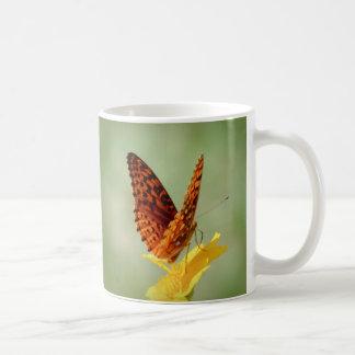 Flügel-oben - Schmetterling Kaffeetasse