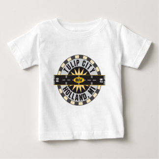 Flughafen der Tulpe-Stadt-BIV Baby T-shirt