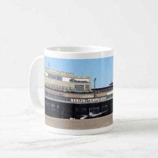 Flughafen-Kaffee-Tasse Berlins Tempelhof Kaffeetasse