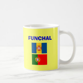 Flughafen-Tasse Funchals Madeira Kaffeetasse