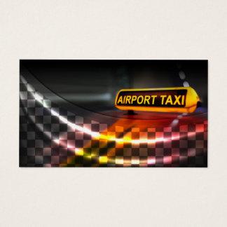 Flughafen-Taxi-Dienstleistungsunternehmen-Karte Visitenkarte