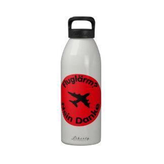 Fluglärm? Nein Danke Wasserflaschen