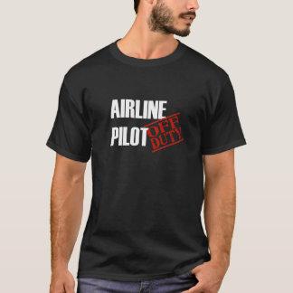 Fluglinien-Pilot T-Shirt