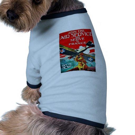 Fluglinienverkehr Hunde Shirt