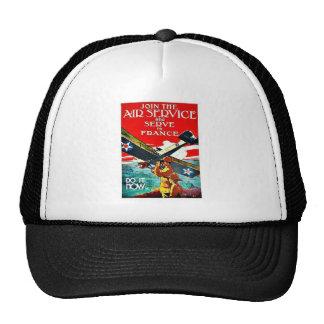 Fluglinienverkehr Baseball Caps