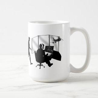 Fluglotse-Geschenkturm-Kontrolle Kaffeehaferl