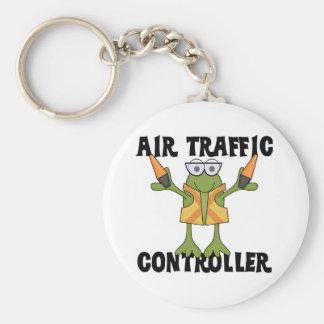 Fluglotse-T-Shirts und Geschenke Standard Runder Schlüsselanhänger