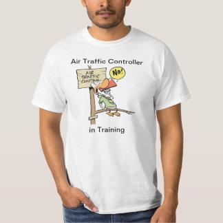 Fluglotse-Trainings-Cartoon-Shirt T-Shirt