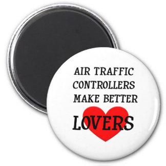 Fluglotsen machen bessere Liebhaber Runder Magnet 5,7 Cm
