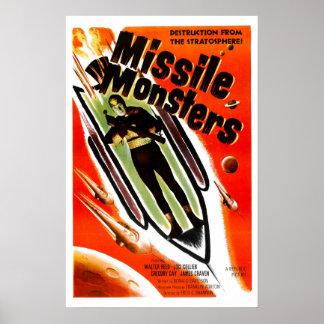 Flugmonster Poster