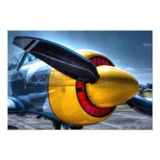 Flugzeug 2 photodrucke