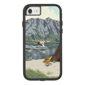 Flugzeug Alaskas Bush und Fischen-Reise Case-Mate Tough Extreme iPhone 8/7 Hülle