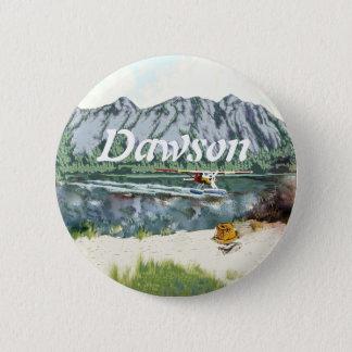 Flugzeug Alaskas Bush und Fischen-Reise Runder Button 5,7 Cm