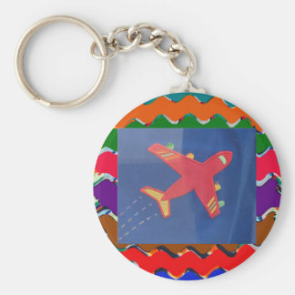 Flugzeug Avion Kinderkinder fliegen Flug Schlüsselanhänger
