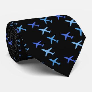Flugzeug, Bedruckte Krawatte