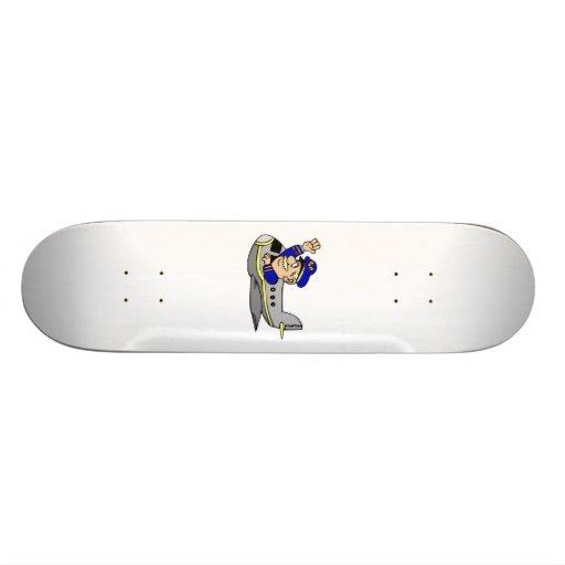 Flugzeug-Cartoon Skateboard Bretter
