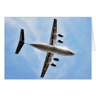 Flugzeug entfernen sich karte