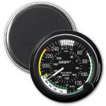 Flugzeug-Fluggeschwindigkeits-Indikatormessgerät Kühlschrankmagnete