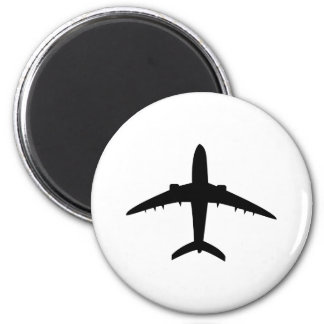 Flugzeug-Flugzeug-Flugzeugikone Kühlschrankmagnete