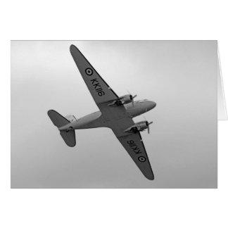 Flugzeug-Karte Douglas DC3 Dakota Karte