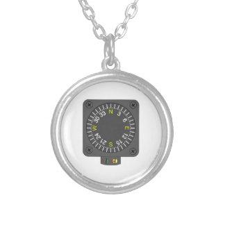Flugzeug-Kompass Halsketten