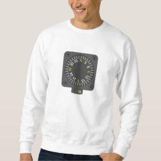 Flugzeug-Kompass Sweatshirt