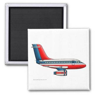 Flugzeug-Passagier-Jet-Flugzeug Quadratischer Magnet