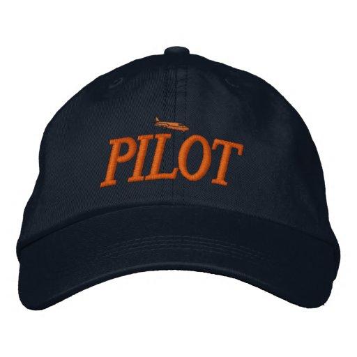 Flugzeug-Pilot gestickter Hut Baseballcap