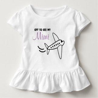 Flugzeug-Shirt - setzen Sie für eine Reise | weg Kleinkind T-shirt
