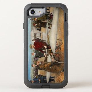 Flugzeug - sonderbar - einfach als Reiten eines OtterBox Defender iPhone 8/7 Hülle